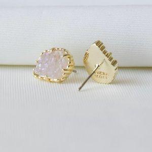 Kendra Scott NWOT Tessa Gold Stud Drusy Earrings